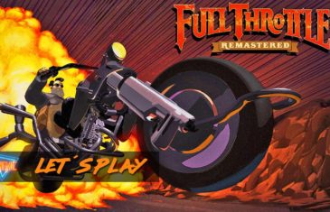 Lets Play Full Throttle Remastered na Playstation 4 Cinemic