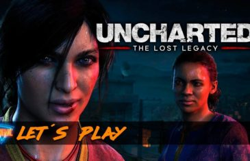 O cinemic jogou um lets play de Uncharted The Lost Legacy para a playstation 4 ps4