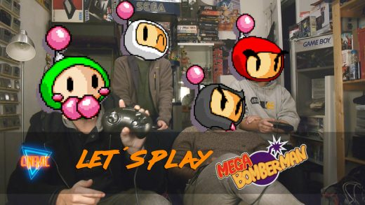 Lets Play Bomberman 4 jogdores 4 players