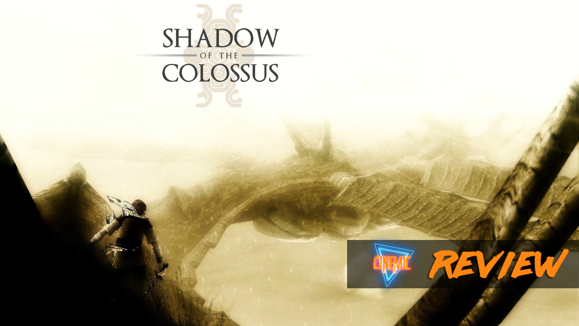 A review de Shadow of The Colossus para a playstation 4 Cinemic