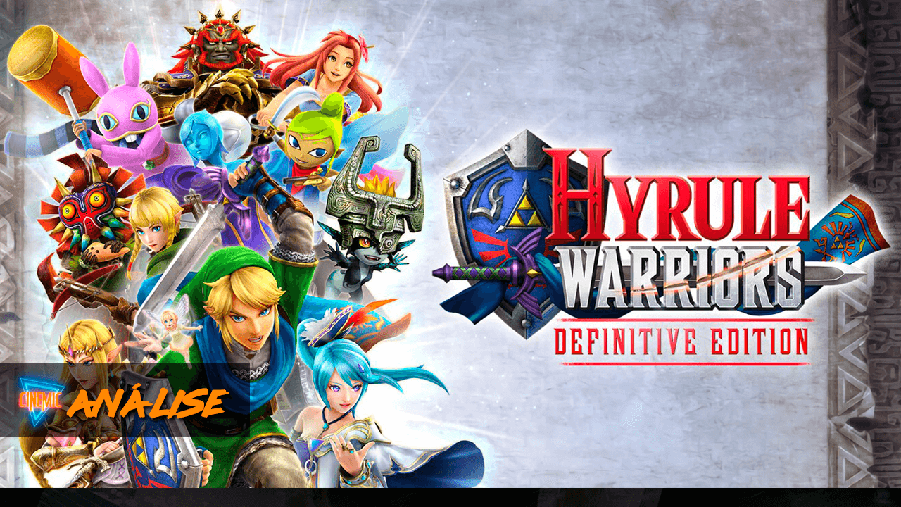 Analise Hyrule Warrios Definitive Edition Switch PT Portugal