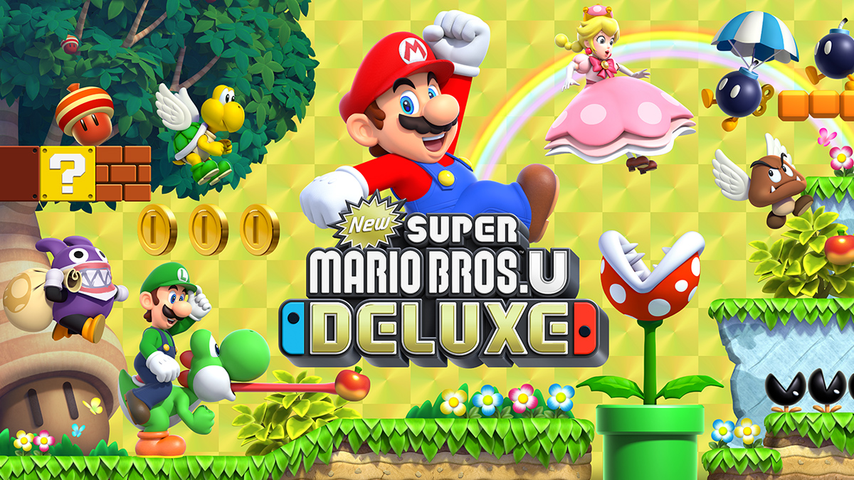Análise New Super Mario Bros U Deluxe Nintendo Switch Portugal Review